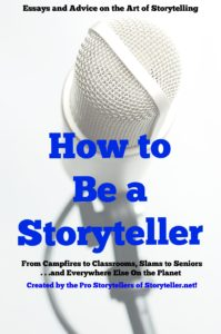 the cover of the how to be a storyteller book